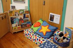 Rainbow playgroup home area