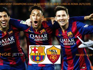 VIP-arrangement: met een privéjet naar Barcelona voor de UEFA Champions League wedstrijd FC Barcelon