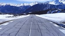 Fly safe into Courchevel Trois Vallées with Orange Jets