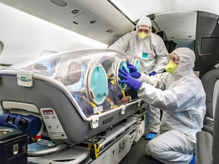 Orange Jets Air Transport capabilities for Coronavirus patients
