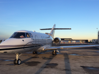 Special Deal: WiFi-equipped Hawker 900 XP from Amsterdam to London €2.500,-