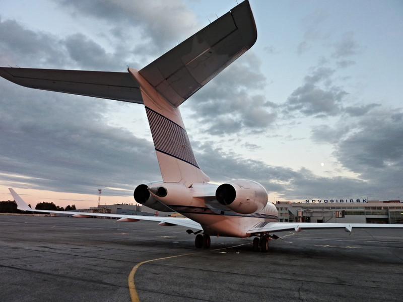 Global Express Orange Jets
