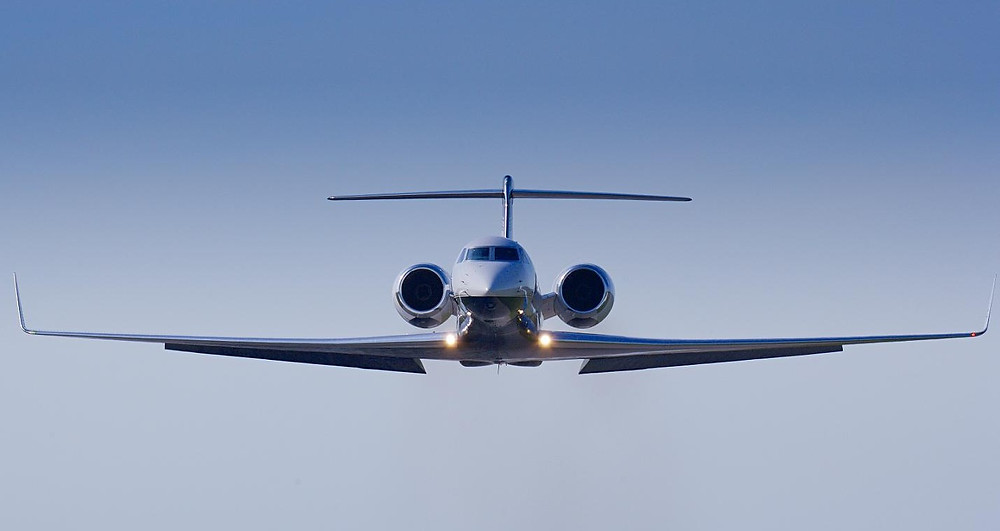 Gulfstream G650 Orange Jets