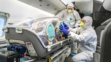 ORANGE JETS TRANSPORT CAPABILITIES FOR CORONAVIRUS PATIENTS