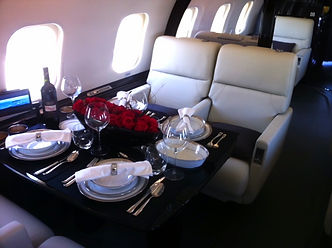 VIP Catering Service Orange Jets