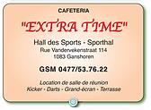 Ganshoren Dams Basket Sponor Extra-Time