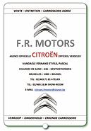 Ganshoren Dams Basket Sponor FR Motors