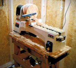 木工旋盤で様々な作品になります