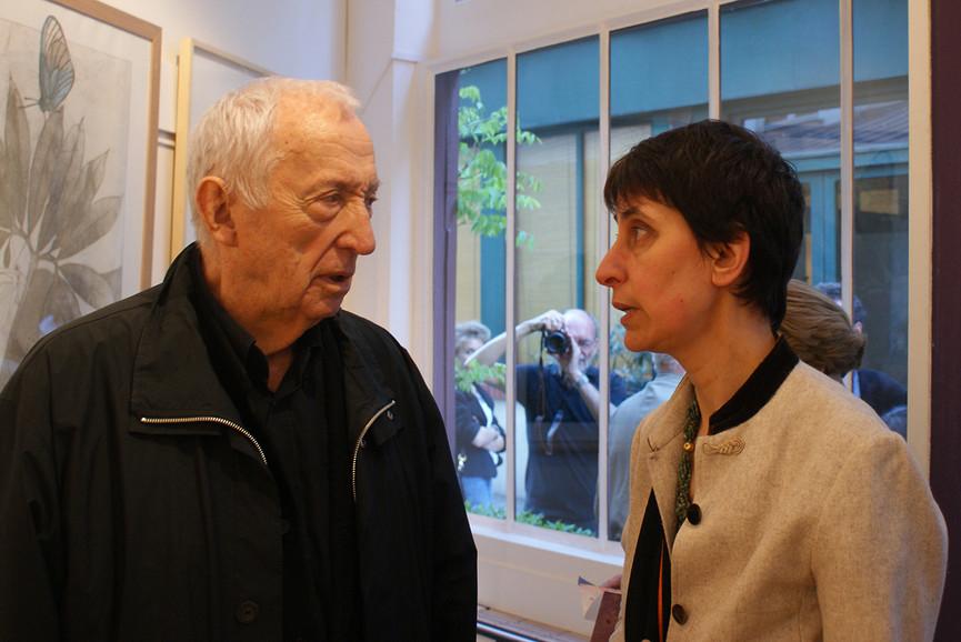 Sylvie Abélanet & Pierre Soulages
