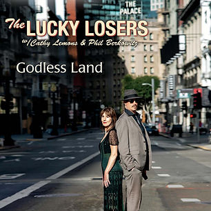 Cover The Lucky Losers - Godless Land.jp