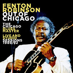 Cover Fenton Robinson - Out Of Chicago T