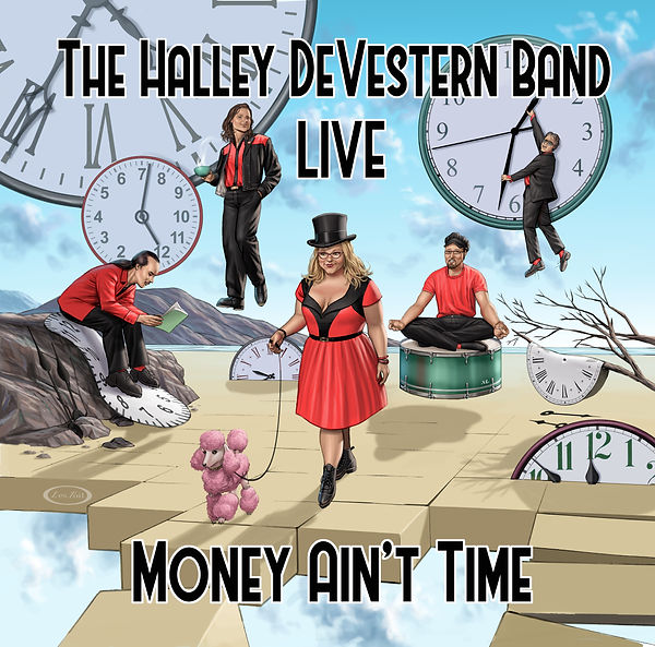 Cover Halley DeVestern Band . Live (Mone