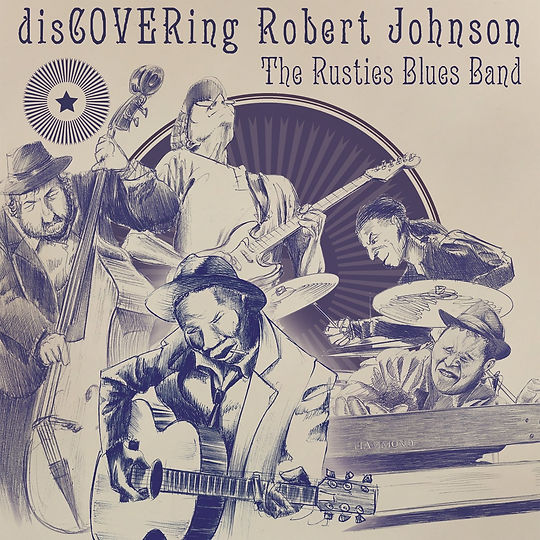 Cover The Rusties Blues Band - Discoveri