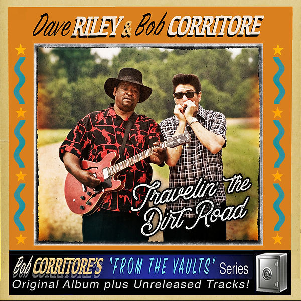 Cover Dave Riley & Bob Corritore - Trave