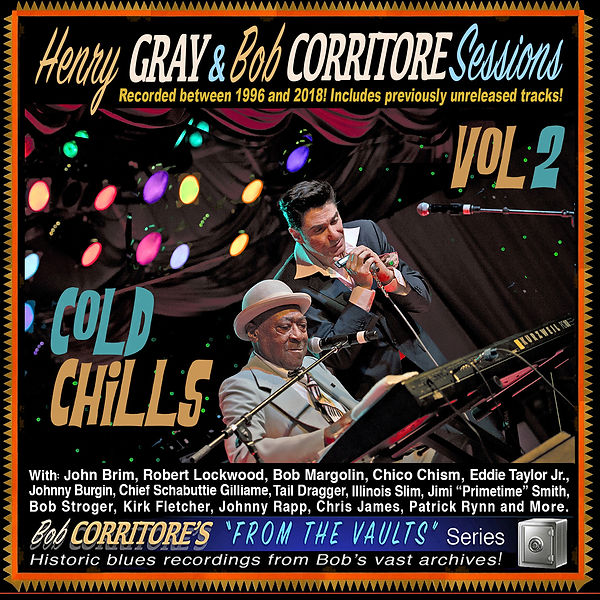 Cover Henry Gray & Bob Corritore Session