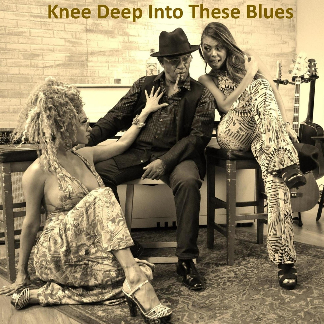 "Bluesman Mike & The Blues Review Band - ""Knee Deep Into These Blues"" (2020)"