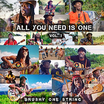 Cover Brushy One Strin - All You Need Is