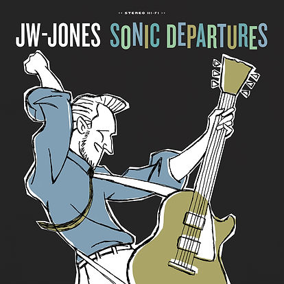 Cover JW-Jones - Sonic Departures (2020)