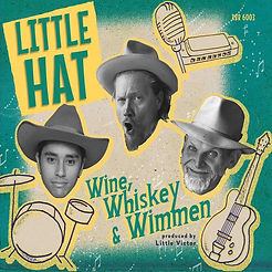Cover Little Hat - Wine Whiskey & Wimmen