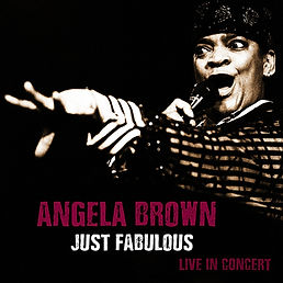Cover Angela Brown Just Furious Live In