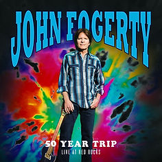 Cover John Fogery 50 Year Trip Live at R
