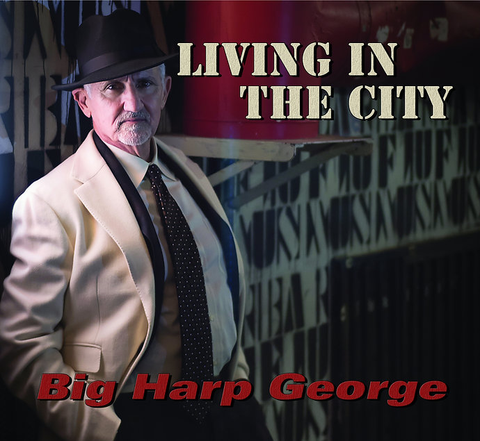 Cover Big Harp George - Living In The Ci