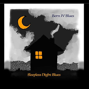 Cover Born IV Blues Sleepless Night Blue