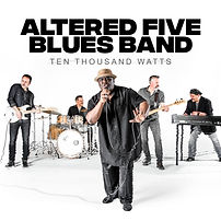 Cover Altered Five Blues Band Ten Thouns