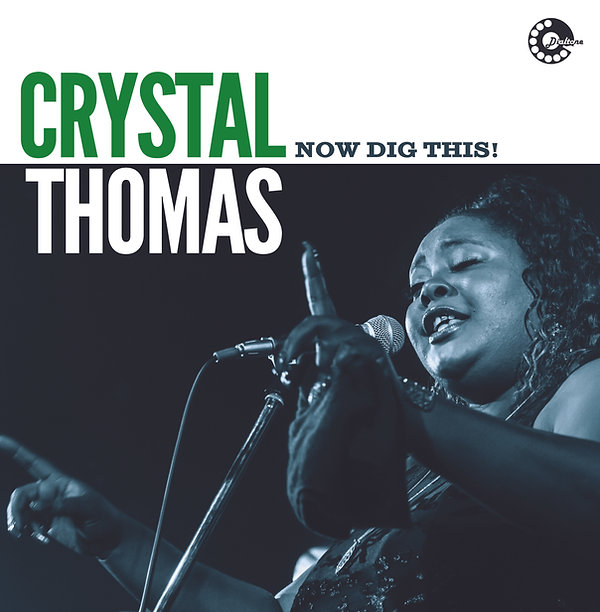 """Cover Crystal Thomas - """"Now Dig Tgis !.jp"""