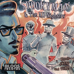 Cover Spookyman - Blood Sweat And Tears.