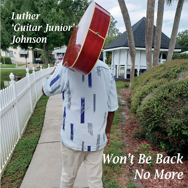 Cover Luther Guitar Junior Johnson - Won'