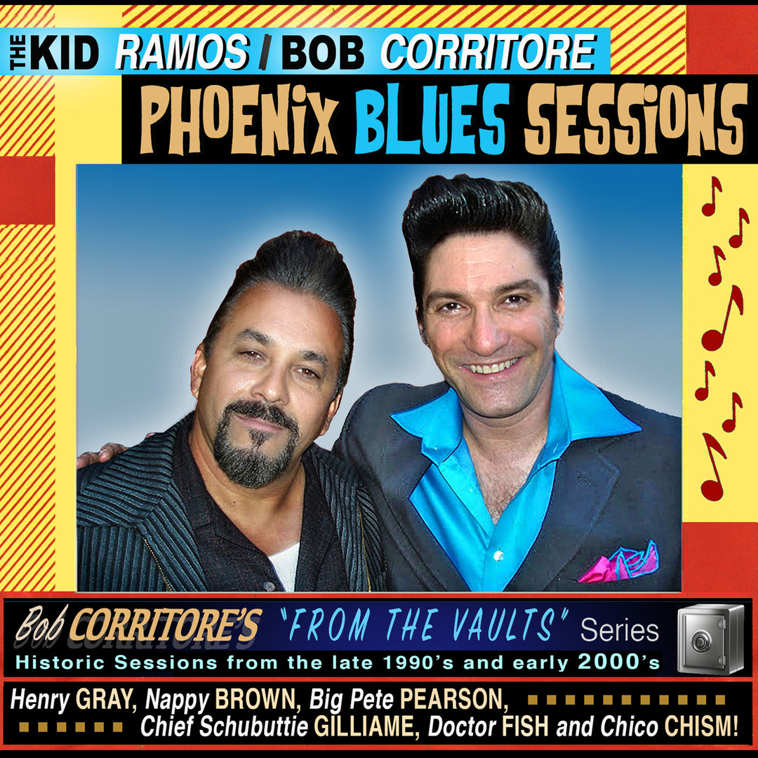 "Kid Ramos & Corritore, Bob - ""Phoenix Blues Sessions"" (2020)"