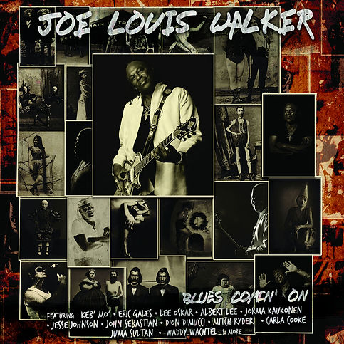 Cover Joe Louis Walker - Blues Comin' On