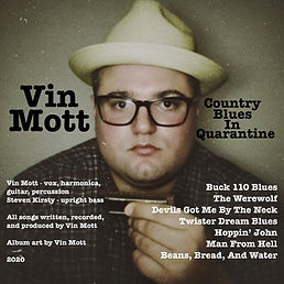 Cover Vin Mott - Country Blues In Quaran