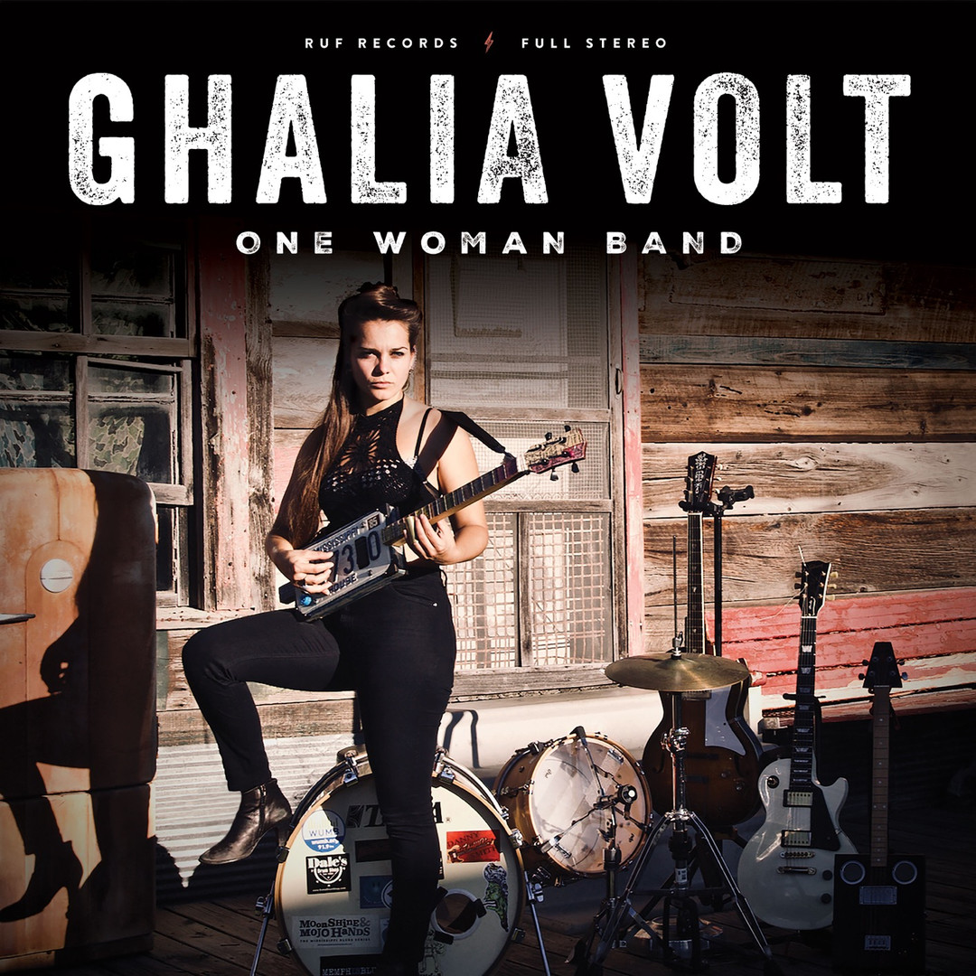 "Ghalia Volt - ""One Woman Band"" (2021)"
