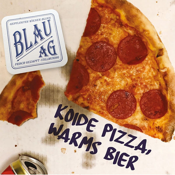 Cover Blau AG - Koide Pizza warms Bier.j