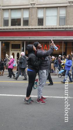 Selfie during #WomensMarch