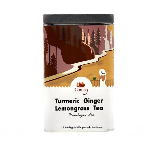 Organic Turmeric  Ginger Lemongrass