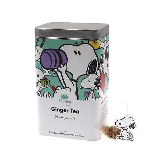 史努比有機茶 -薑茶