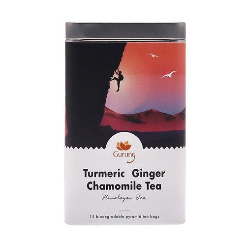 有機薑黄洋甘菊茶