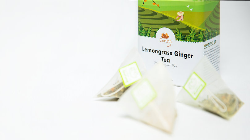 lemongrass ginger tea bags