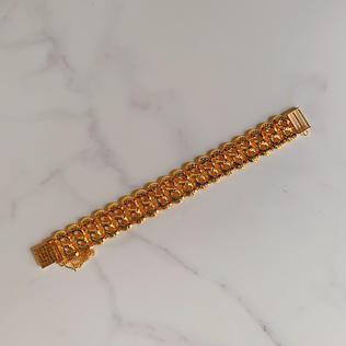 916 Gold 88 Link Bracelet