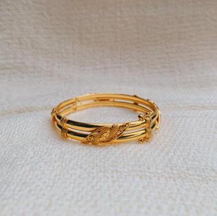 916 Gold Leaf Bangle (SOLD OUT)