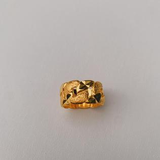 916 Gold Stamping Ring
