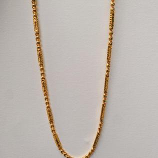 916 Gold Dot Lint Necklace