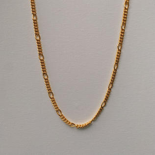 916 Gold Loop Ring Necklace