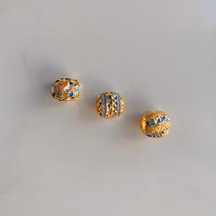 916 Gold Classic Pandora Beads