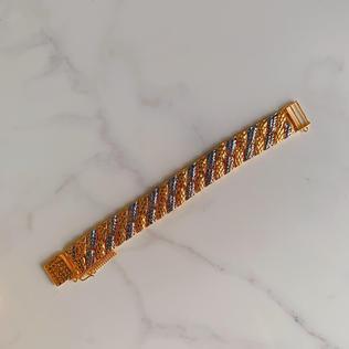916 Gold Lights Bracelet