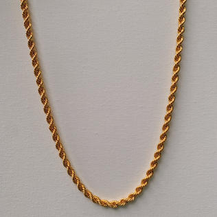 916 Gold Rope Necklace