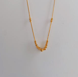 916 Gold Celestial Necklace (sold out)